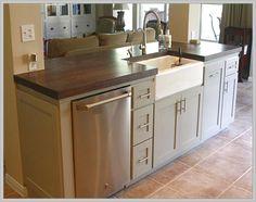 83 best kitchen island with sink images kitchen dining kitchens rh pinterest com
