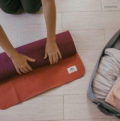 PrAna Sac pour tapis de yoga en bois rouge Taille unique