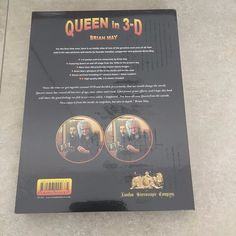 Queen - in 3D - Brian May - 2017 release - sealed