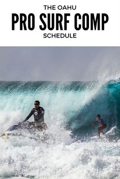 Pro Surf Events are a highlight of Hawaiian Winters