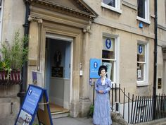 Places I've Been: The Jane Austen Center, Bath, England - Europe Trip/March 2013