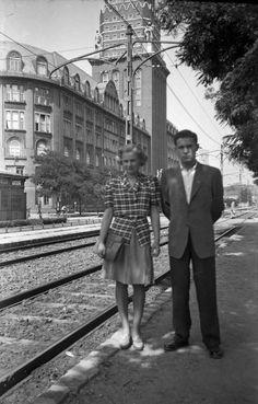 Fiumei út, OTI székház. Old Pictures, Old Photos, Budapest Hungary, Historical Photos, Austria, Nostalgia, The Past, Culture, History