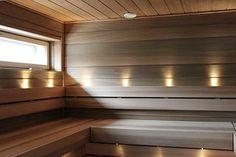 saunan valaistus - Saunas, Villa, Stairs, Led, Bathroom, Home Decor, Washroom, Stairway, Decoration Home