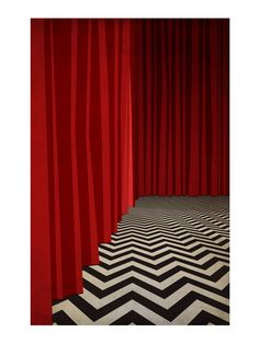 Red Room-Black Lodge Twin Peaks poster