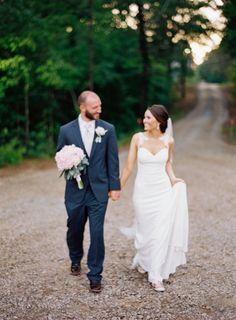 Wedding Dress: Martina Liana - http://www.essensedesigns.com/martina-liana/ Photography: Olivia Lott Photography - olivialott.com   Read More on SMP: http://www.stylemepretty.com/2016/09/09/sparkly-southern-rustic-elegant-wedding/