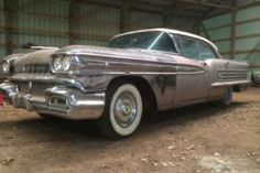 Still In The Barn: 1958 Olds Super 88 Holiday Hardtop - http://barnfinds.com/still-in-the-barn-1958-olds-super-88-holiday-hardtop/