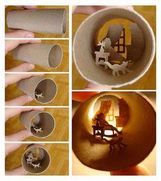 Tiny Toilet Paper Roll Scenes   Bored Panda