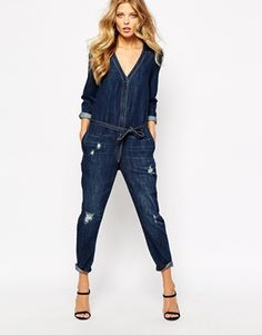 Boiler suits are such a great way to embrace two key SS15 trends in one! Easy Peasy!