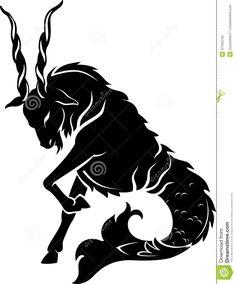 capricornio desenho tatuagem - Pesquisa Google