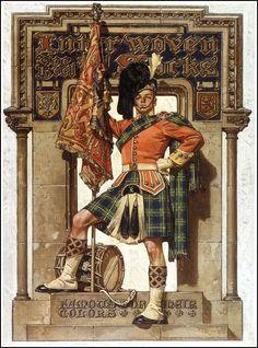 Scotsman - by J.C. Leyendecker - 1927