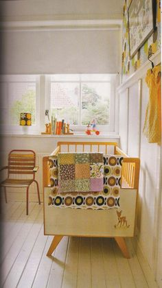 This is adorable for a future baby room. It's not as colorful as I usually like but I kind of love this.