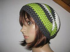 Mütze, Beanie im Boshi Style, Häkelmütze, Merino