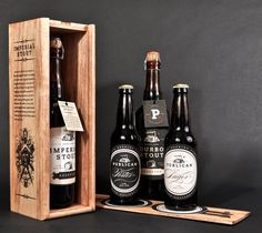 Brewery Brand Design and Packaging. Designer Daniel Guillermo created this brand identity and packaging design concept for Publican Brewery. Beer Packaging, Brand Packaging, Packaging Design, Pretty Packaging, Label Design, Branding, Beer Brands, Wine And Beer, Brewing Company