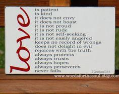 Love Is Patient 1 Corinthians 13:4-8