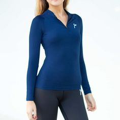 The Famme Long Sleeve Top is made to keep you cool and dry during your workouts. It features a light weight fabric, a front zip for maximum comfort and a slim silhouette. Workout Gear, Workouts, Tight Leggings, Sport Wear, Fitness Fashion, Yoga Pants, Long Sleeve Tops, Essentials, Ocean City