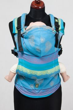 PRE-ORDER Lenny Lamb Ergonomic Full Buckle Carrier- Heavenly Lace