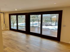Custom Wood Doors made in Canada by Amberwood Doors. Our expert craftsman can help you find the right door for your home renovation project Front Door Porch, Front Doors, Beautiful Dream, Beautiful Homes, Toronto Architecture, Custom Wood Doors, Backyard Renovations, Oak Stain, Folding Doors
