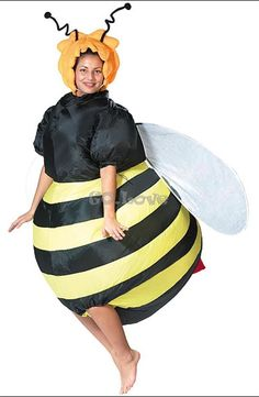 This is the best. Omg. ---- Aliexpress.com : Buy Hot Adult Halloween Party Costumes Inflatable Bee Costumes Batter Fan Blow Up Suits One Size from Reliable suit trouser suppliers on Go Love  | Alibaba Group