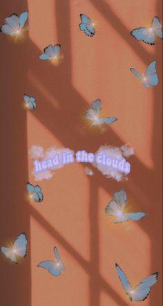 Butterfly Wallpaper Iphone, Iphone Wallpaper Vsco, Iphone Wallpaper Tumblr Aesthetic, Iphone Background Wallpaper, Aesthetic Pastel Wallpaper, Aesthetic Wallpapers, Iphone Wallpapers, Whats Wallpaper, Sparkle Wallpaper