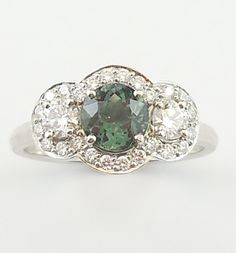 Another gorgeous custom made ring we handed out to its happy owner on Saturday! (oh and it is a tourmaline again!)