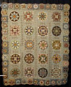 """My Favorite Pattern"" by Rie Okayama This quilt is soooo beautiful!"