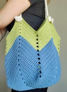 Crochet Backpack, Crochet Tote, Crochet Handbags, Crochet Purses, Knit Crochet, Basic Crochet Stitches, Crochet Hook Sizes, Crochet Basics, Crochet Patterns
