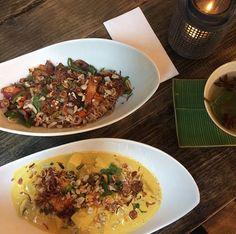 @chum_chay - Immer noch unser liebster Vietnamese in Köln ... Alle Gerichte sind hier #vegetarisch, ein Großteil sogar #vegan. Alle Gerichte sind raffiniert kombiniert und gewürzt und sehr sehr lecker.  Unsere Highlights sind die #Sommerrollen, der #Glasnudelsalat sowie das rote Curry. 😍 Und auch der Anis-Zimt-Tee mit Minze ist ein Gedicht.  Ein Ausflug in den Friesenwall 29 lohnt sich also 100%ig, nur sonntags nicht, da ist Ruhetag. 😉 #vietnamesefood #miezenstories