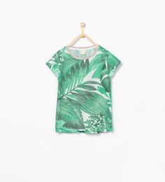 Floral T-shirt-One-BROTHERS & SISTERS | ZARA Hungary