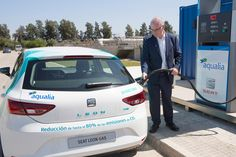 An innovative new project called LIFE+ Methamorphosis is pioneering a new sustainable biofuel for cars. Car company SEAT and water management company Aqualia have transformed wastewater into the alternative fuel. Powered with this biofuel produced during one year at a treatment plant in Spain, a vehicle could circumnavigate the globe 100 times.