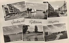 Rotterdam, Old And New, Netherlands, Dutch, The Past, Black And White, Movies, Movie Posters, Postcards