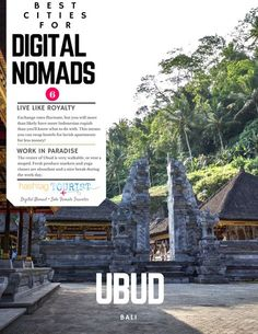 The Best Cities in the World for Digital Nomads!