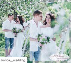#Repost @korica__wedding with @repostapp. ・・・ Сегодня мы вспомним  #свадьбу в настоящем яблочном саду  Нежная и #романтическая прогулка на пляже, #выездная_регистрация на цветущей поляне и #праздничный ужин среди душистых яблонь И так, #утро_невесты  Лучшие специалисты своего дела: #Организатор @korica__wedding  #Фотограф @igonina_anna  #Флористика @magiasvetov073  #Декор @decor.vesna  #Платье @cloverwedding  #Прическа и макияж @fashionlookstudio #Координатор @zhe.nya.#russiawedding #j