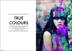 Creative Volt, Magazine, True, Colours, and Caf image ideas & inspiration on Designspiration Book Design, Layout Design, True Colors, Colours, Skin Brightening, Colour Images, Typography, Christian, Graphic Design