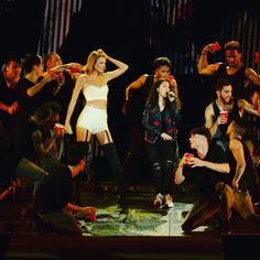 """taylorswift:""""I ask myself what am I doing here?"""" @/alessiasmusic"""