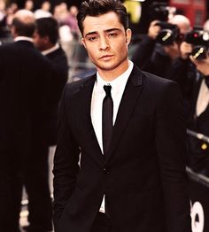 Seriously. He's just too good looking. I can't.