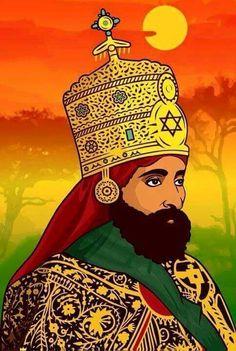 . Rastafari Art, Rastafarian Culture, Rasta Art, Haile Selassie, Rasta Colors, Lion Of Judah, King Of Kings, Botanical Illustration, Religion