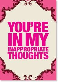 Inappropriate thoughts