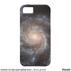 messier 101 ngc 5457 galaxy stars space iPhone SE/5/5s case
