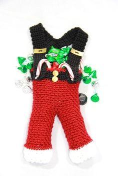 Free Pattern. Santa Pants Bag - Crafts by Starlight