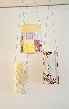 Pretty Patchy Paper Lanterns