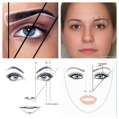 Eyebrows - which technic works?- Eyebrows – which technic works? Eyebrows – which technic works? Eyebrow Makeup Tips, Permanent Makeup Eyebrows, Eye Makeup Tips, Makeup Trends, Makeup Tools, Mircoblading Eyebrows, How To Draw Eyebrows, Drawing Eyebrows, Thicker Eyebrows