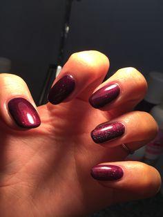 Purple paradise 💜 by me 💅🏼 Shellac, Natural Nails, Overlay, Acrylic Nails, Paradise, Purple, Beauty, Overlays, Acrylics