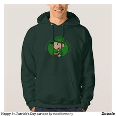 Happy St. Patrick's Day cartoon Sweatshirts