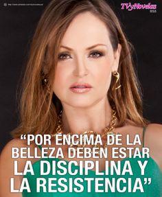 GABY SPANIC. Las frases de los famosos que se destacan para TVyNOVELAS-USA