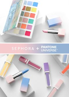 Pantone has just announced the Color of the Year for 2016 and it's actually two colors: Serenity blue and Rose Quartz! And just like years past, Sephora and Pantone have teamed up to release a collection to celebrate these new color…