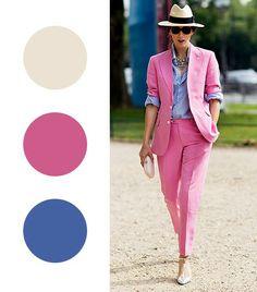Цветная теория: колоритные сочетания в одежде   СПЛЕТНИК