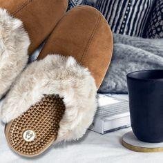 b1e5814142cd Revs® Slip-On Mule Massage Slippers for Women
