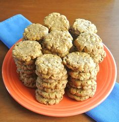 Kitchen Sink Cookies are The Best!  These not only have rolled oats, coconut and walnuts. There is even some granola inside.