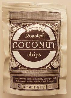 Trader Joe's Roasted Coconut Chips!