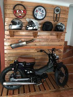 Cafe Racer Build, Cafe Racer Bikes, Estilo Cafe Racer, Honda Motorbikes, Garage Bike, Tyre Shop, Honda Cub, Honda Bikes, Retro Motorcycle